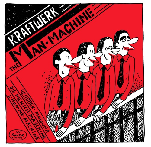 arte kraftwerk man machine teste