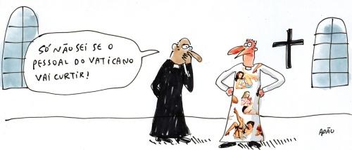 batina padre pinups vaticano