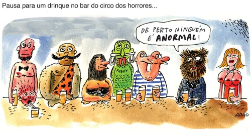 drinque circo horrores freak show