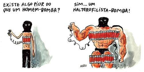 halterofilista bomba