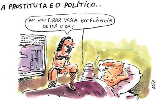 prostituta e politico
