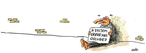 system error occured mendigo