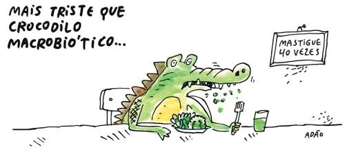 triste crocodilo macrobiotico