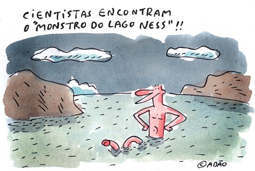 monstro do lago ness