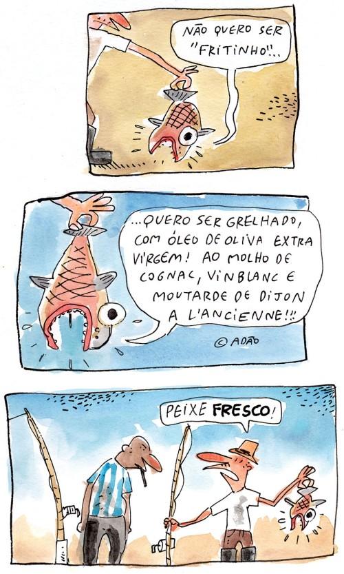 peixe novo