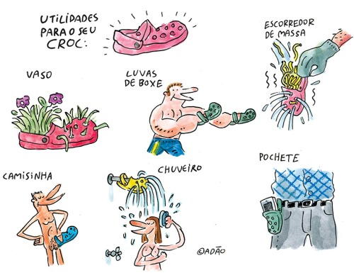 utilidades para o croc
