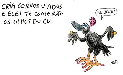 cria corvos viados