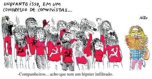 congresso comunistas hipster