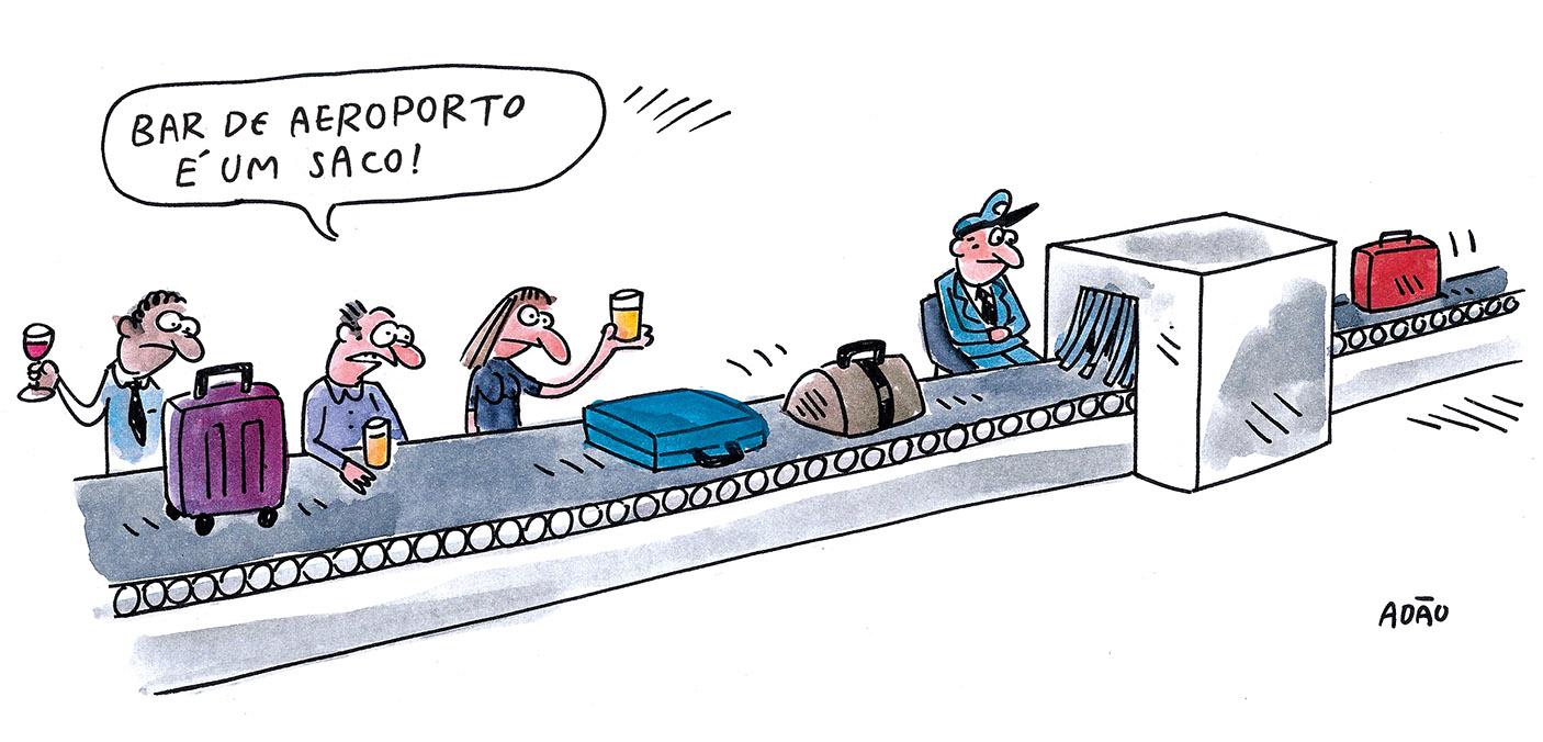Imagem Raio Aeroporto : Bar de aeroporto a vida como ela yeah