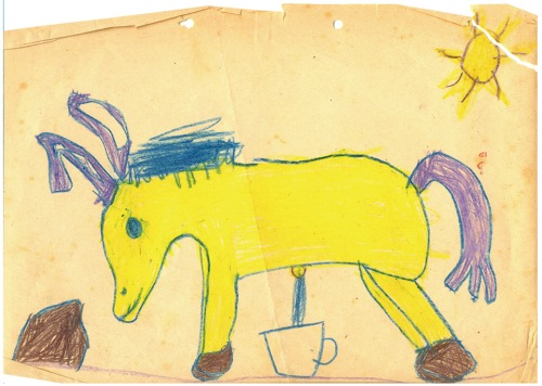 desenho cavalo mijando.jpg