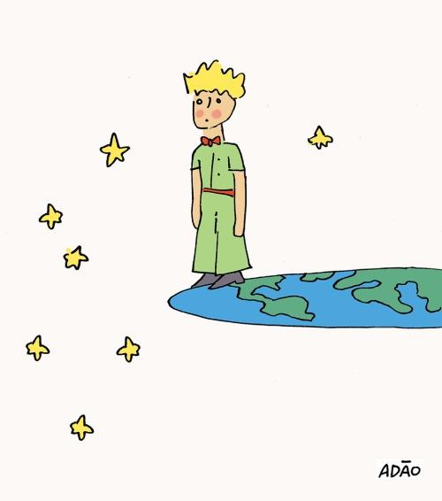 pequeno principe terra plana.jpg